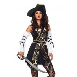 Costume da pirata del Mar Nero