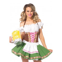 Costume cameriera tirolese