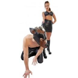 Maschera da cane per bondage