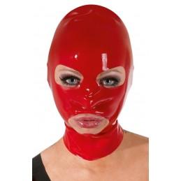 Maschera rossa in latex