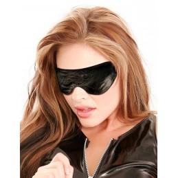 Leather love mask black
