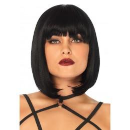 Parrucca Silvana corta nera