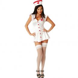 Vestito erotico infermiera...