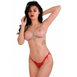 Tanga rosso piccante Gina