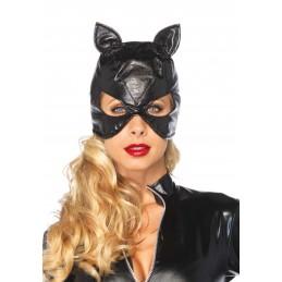 Maschera gatto in ecopelle