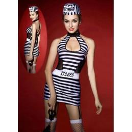 Costume sexy da prigioniera