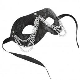 Maschera di pizzo con catena