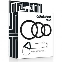 Toys rings set per pene